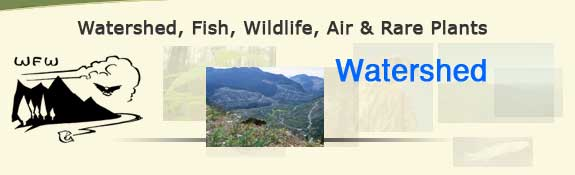 Watershed, Fish, Wildlife, Air & Rare Plants
