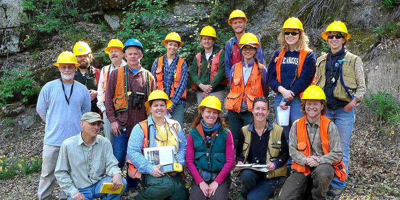Enterprise Group Bryophyte training, coordinated with the Plumas National Forest.