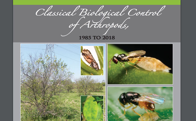 Classical Biological Control of Arthropods Publication Cover