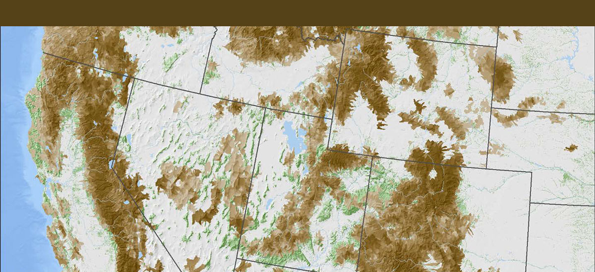 Western Bark Beetle Tree Mortality Summary Map