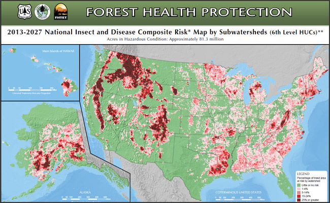 National Insect & Disease Risk Maps
