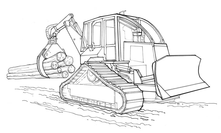 Forestry Equipment Chassis Configurations