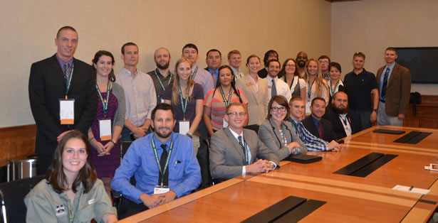 New Forest Service hires at the 2014 SAF Convention.