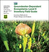 Thumbnail image of the Groundwater-Dependent Ecosystems: Level II Inventory Field Guide