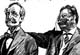 cartoon of Pinchot and T. Roosevelt -- visit galleries