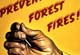 Prevent Forest Fires poster -- visit galleries