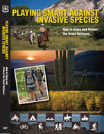 Cover of the DVD case for Playing Smart Against Invasive Species.