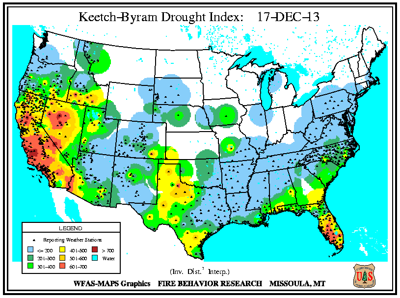 Current National Weather Map NWS Huntsville Drought Information