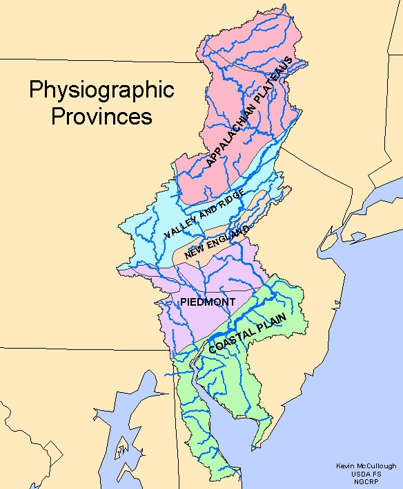 CEMRI - Delaware river on us map