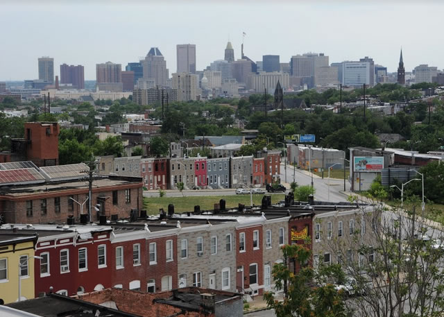 Photo of the Baltimore skyline