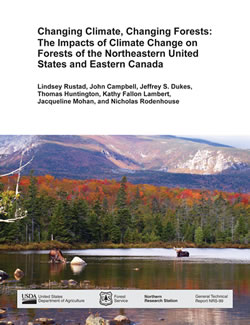 Cover image from Changing Climate, Changing Forests: The Impacts of Climate Change on Forests of the Northeastern United States and Eastern Canada