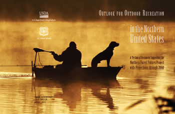 Cover image from GTR-NRS-120 Outlook for Outdoor Recreation in the Northern United States