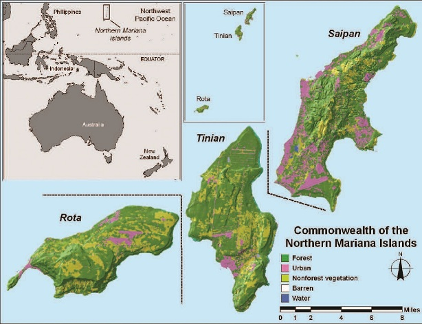 Northern Marianas | PNW Research Station | USDA Forest Service