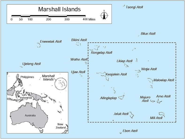 Marshall Islands PNW Research Station USDA Forest Service - Marshall islands map