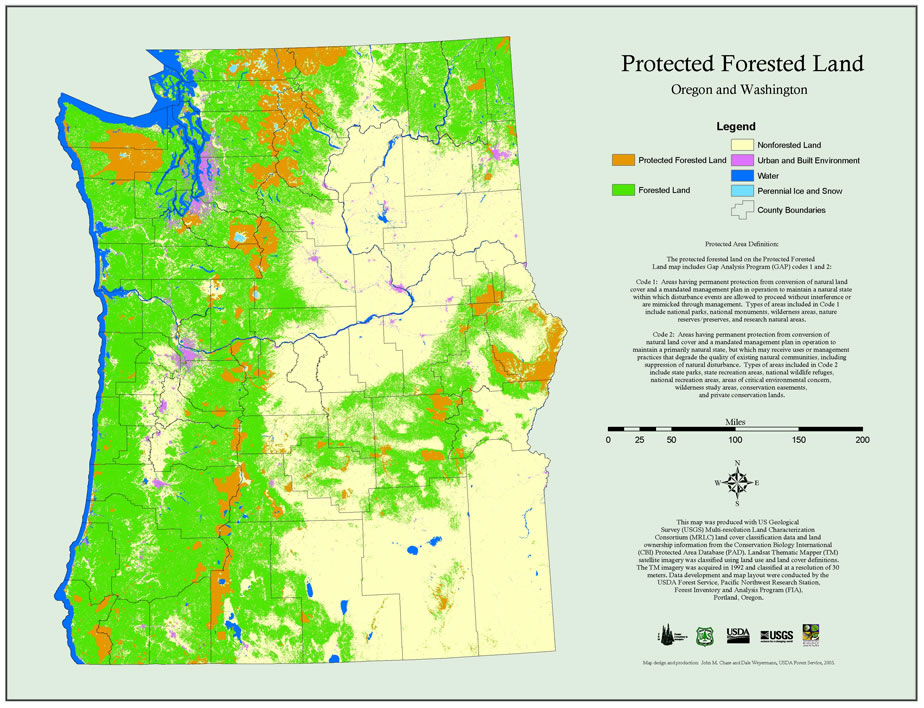Maps PNW Research Station USDA Forest Service - Map of northwest us