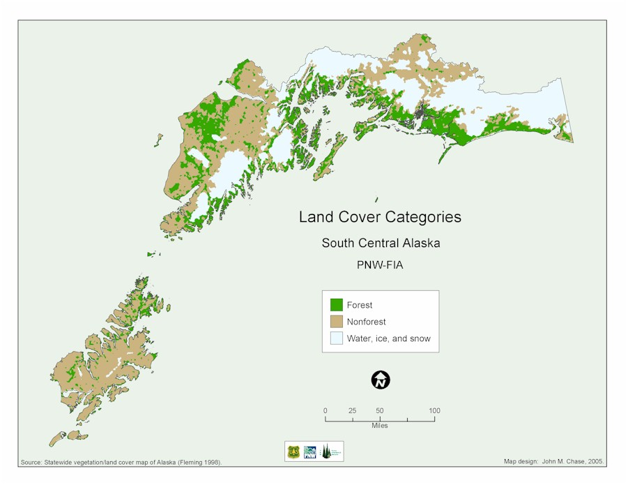 South Central Alaska Land Cover Categories