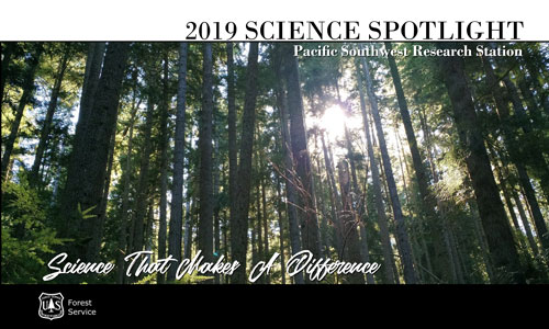 Cover image of the 2019 PSW Science Spotlight.
