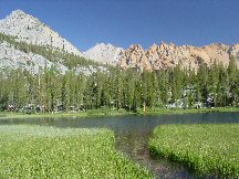 photo of Grass Lake in Inyo National Forest