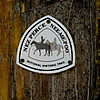 Nez Perce Nee-Me-Poo National Historic Trail sign.