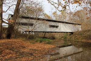 Hover to pause, click to view — America\'s Iconic Covered Bridges Documented With As Built Records