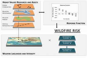 Hover to pause, click to view — Risk Analysis Prioritizes Investments in Hazardous Fuels Reduction