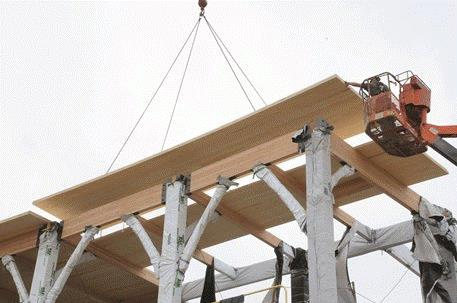 Hover to pause, click to view — Wood Construction Goes Beyond Its Traditional Roots