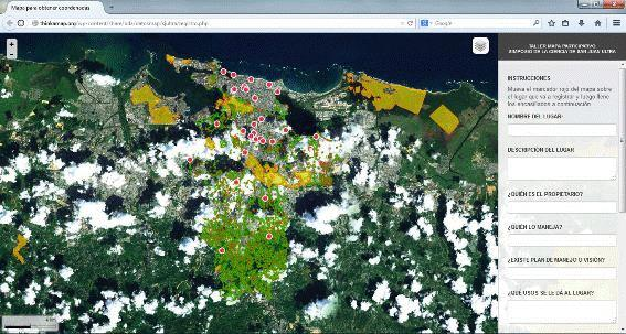Hover to pause, click to view — Online Mapping Tool Helps Identify Green Areas for Sustainability Planning in San Juan