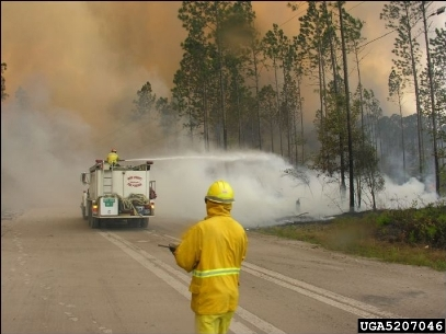 Hover to pause, click to view — Improving the Deployment of Wildland Fire Suppression Resources
