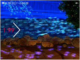 Hover to pause, click to view — WaterViz for Hubbard Brook:  A Water Cycle Visualization Tool