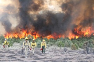 Hover to pause, click to view — Forest Service Researchers Focus on Firefighter Safety