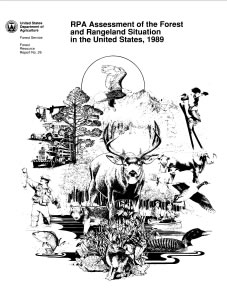 1989 assessment report cover