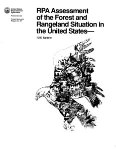 1993 assessment report cover