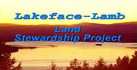 The title frame of the Lakeface-Lamb Land Stewardship Project video. Links to the video are at the bottom of this page.