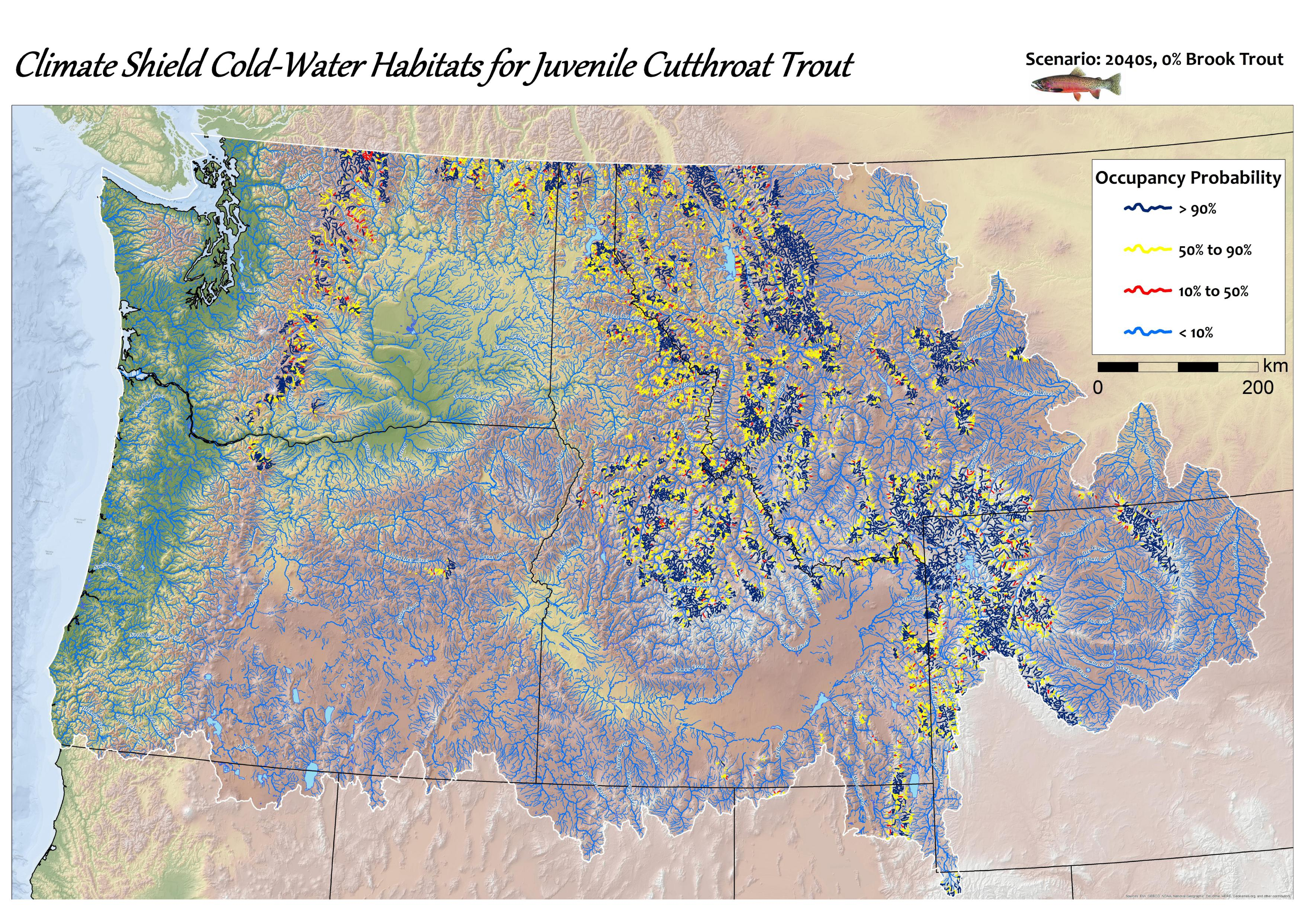 Maps and gis data cold water climate shield delineating refugia pdf gumiabroncs Images