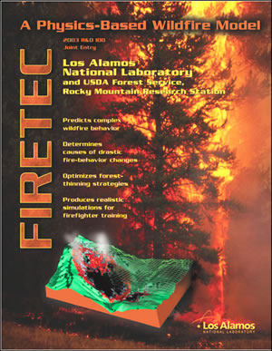 Firetec LANL report cover