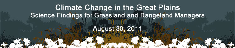 Climate Change in the Great Plains Webinar August 30, 2011