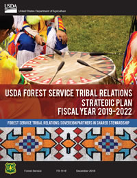 USDA Forest Service Tribal Relations Strategic Plan - Fiscal Years 2019-2022 cover