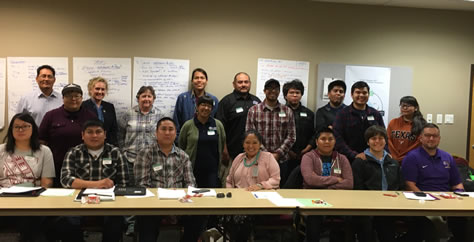 Office of Tribal Relations staff and tribal participants.