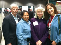 Tom Tidwell, Estelle Bowman, Gail Kimbell, and Mariel Murray.