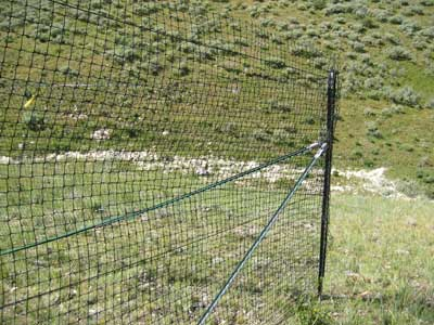 0424 2838 Mtdc Fencing Out Wildlife Plastic Mesh Fences