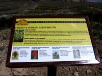 Interpretive program sign.