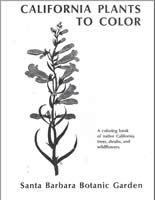 California Plants to Color Cover