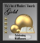 Vie's Inn of Wonders' Awards Gold Award logo for Celebrating Wildflowers