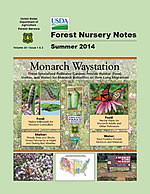 Forest Nursery Notes Summer 2014 cover.