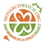 Monarchs in Space logo