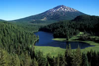 Todd Lake and Mt. Bachelor