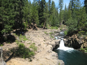 Lower Falls of the McCloud River.