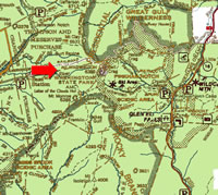 Map of the Mount Washington area.