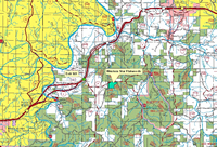 Western Star Flatwoods map.