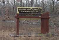 Western Star Flatwoods sign.